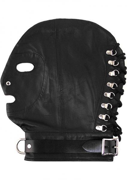 Rouge Mask D-Ring Lockable Buckle Strap Black