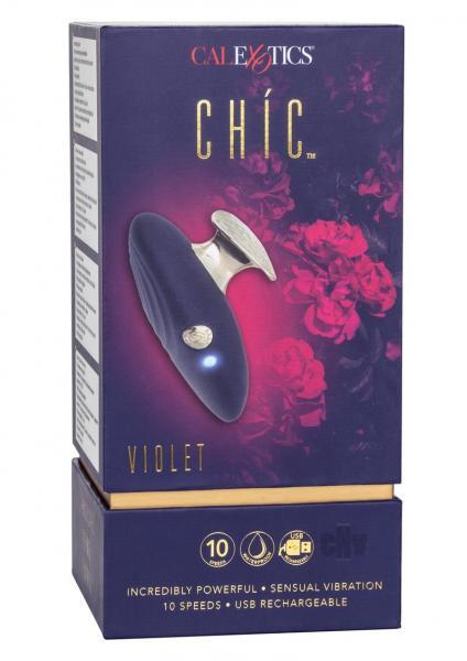 Chic Violet Blue