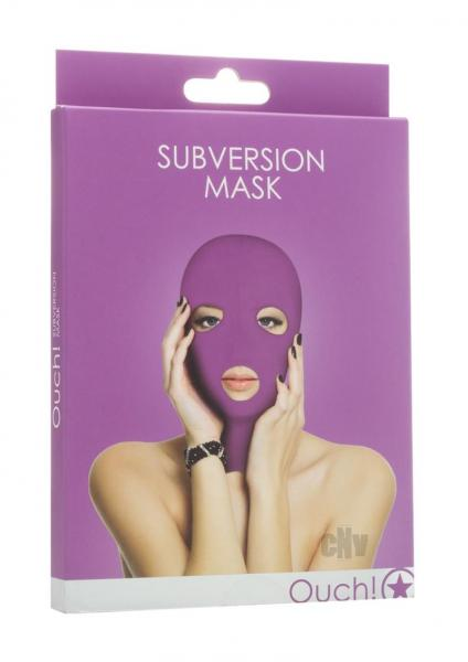 Ouch Subversion Mask Purple