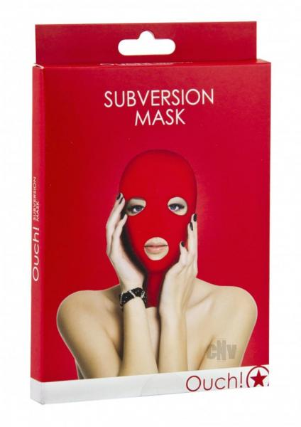 Ouch Subversion Mask Red