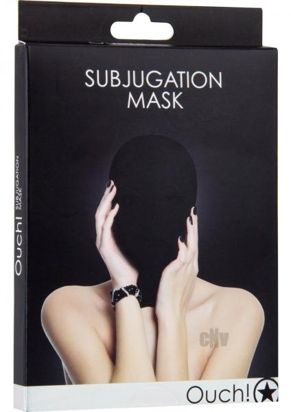 Ouch Subjugation Mask Black O/S