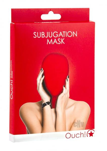 Ouch Subjugation Mask Red