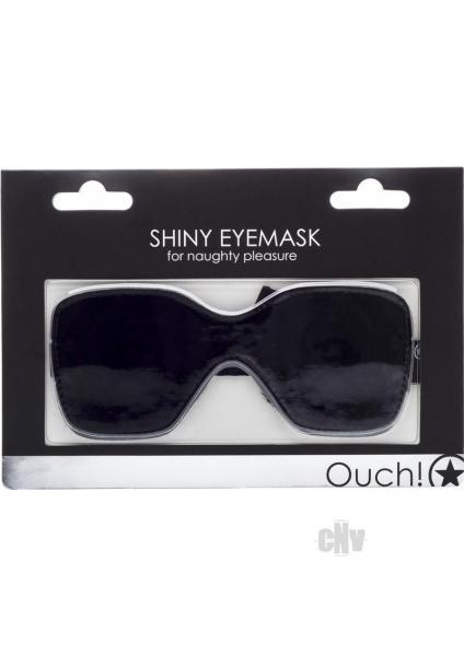 Ouch Shiny Eyemask Black O/S