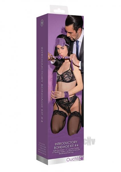 Ouch Kits Introductory Bondage 4 Purple