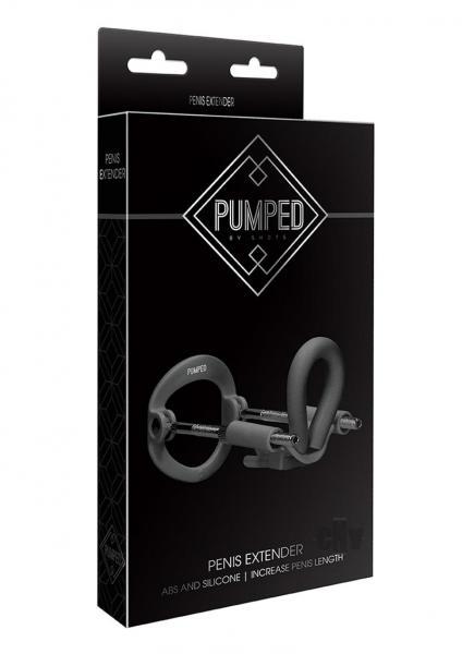 Pumped Penis Extender Black