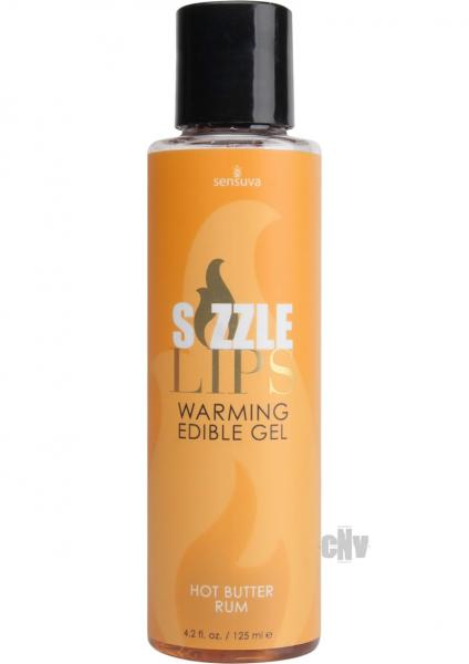 Sizzle Lips Warming Gel Butter Rum 4.2oz