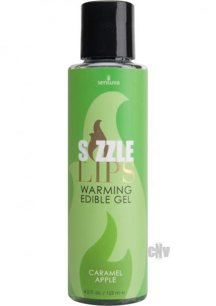 Sizzle Lips Warming Gel Caramel Apple 4.2oz