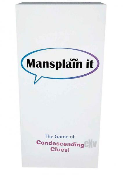 Mansplain It Card Game