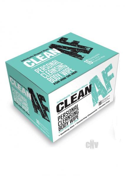 Clean Af Wipes 16/bx