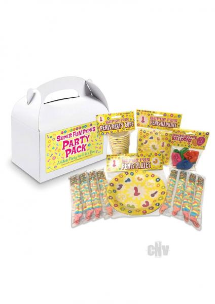 Super Fun Penis Party Pack For 8