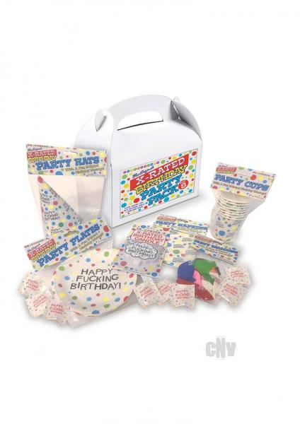 X Rated Birthday Party Pack For 8