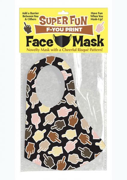 Super Fun F U Finger Mask