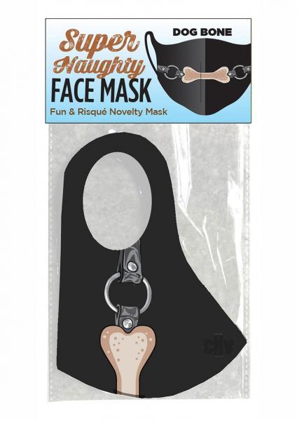 Super Naughty Dog Bone Gag Mask