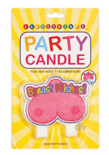 Breast Wishes Boob Candle