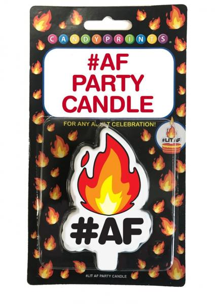 Hot #AF Party Candle