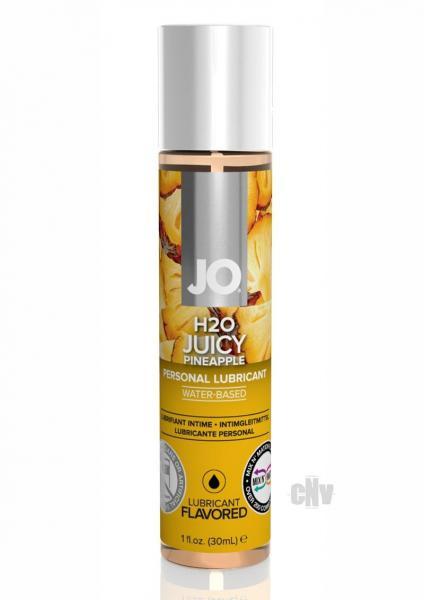Jo H2o Flavor Lube Pineapple 1oz