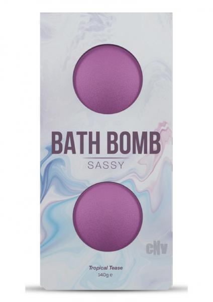 Dona Sassy Fragrance Bath Bomb 2pk