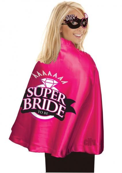 Super Bride Cape And Mask Set