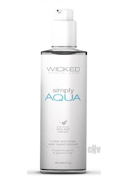 Wicked Simply Aqua Lubricant 4 fluid ounces