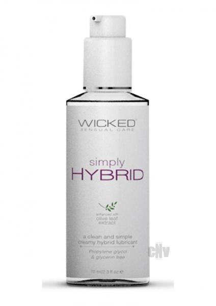 Wicked Simply Hybrid Lubricant 2.3 fluid ounces