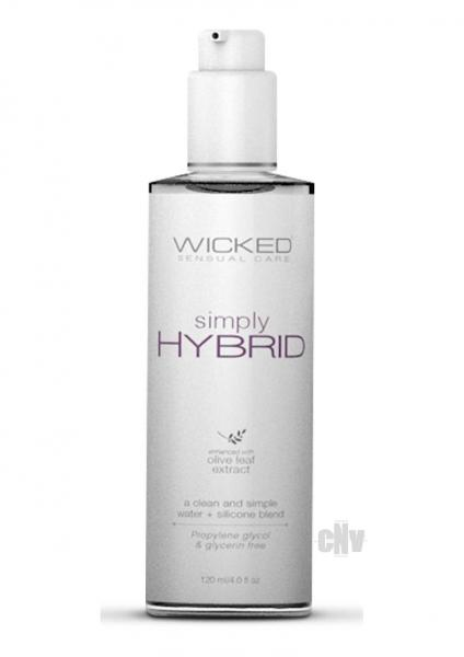 Wicked Simply Hybrid Lubricant 4 fluid ounces