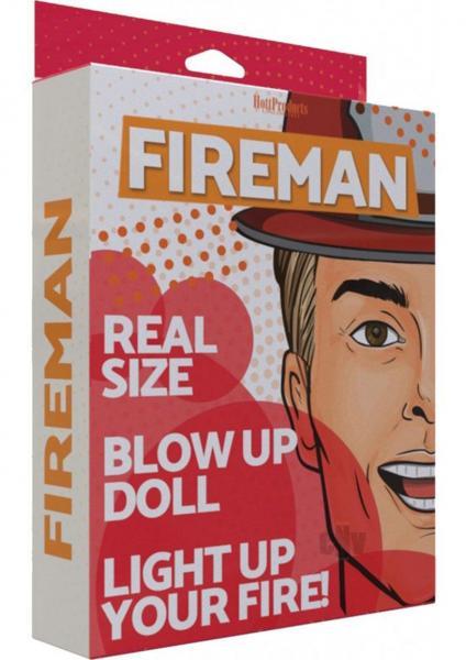 Fireman Doll Vanilla