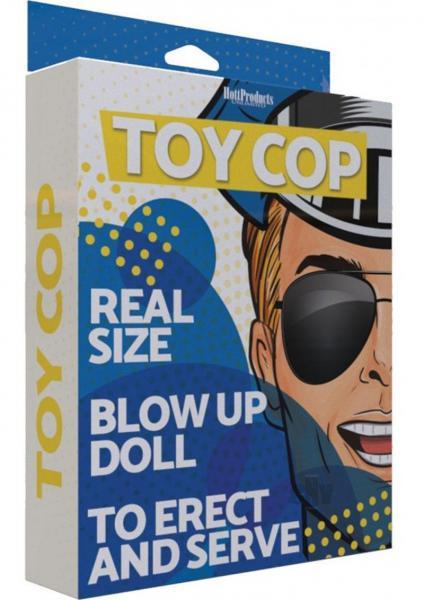 Toy Cop Doll Vanilla