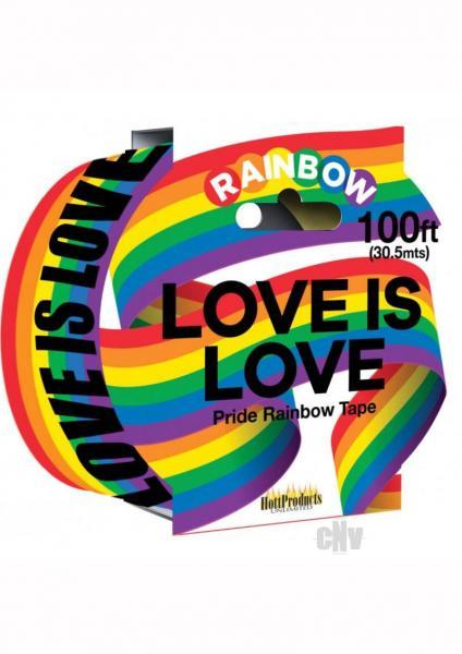 Rainbow Caution Tape Multi Color