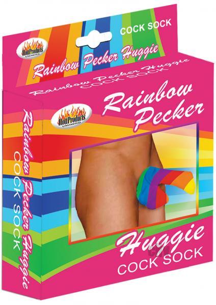 Rainbow Huggie Men's Cock Sock