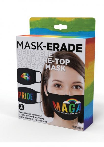 Maskerade 3pk Pride Black