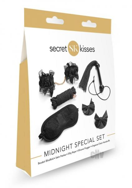 Secret Kisses Midnight Special Bondage Set