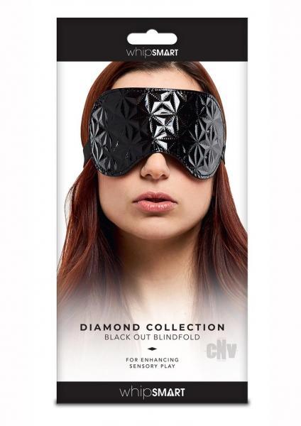 Whipsmart Black Out Blindfold Black