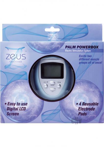 Zeus Palm Power Box Estim System