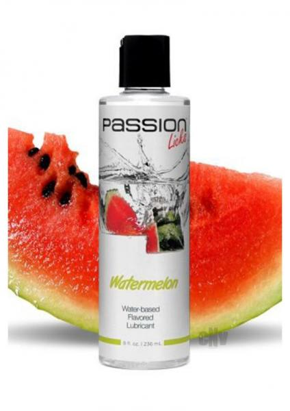Passion Licks Watermelon Flavor Lubricant 8oz