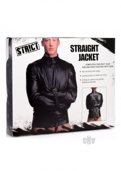 Strict Straight Jacket Med Black