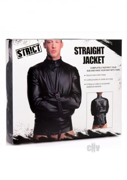 Strict Straight Jacket Xl Black