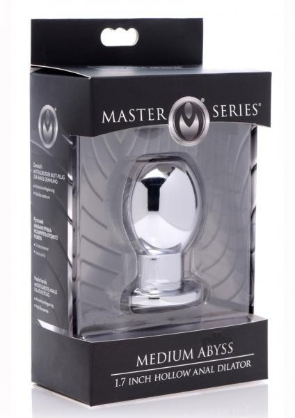 Ms Medium Abyss Hollow Anal Plug Steel