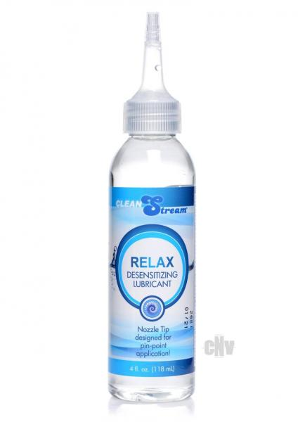 Cleanstream Relax Desense Lube 4oz