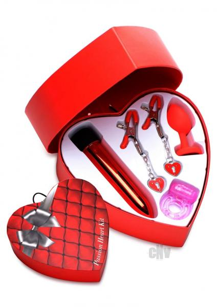 Frisky Passion Heart Kit Red
