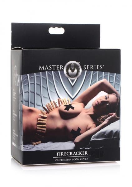 Ms Firecracker Clothespin Body Zipper