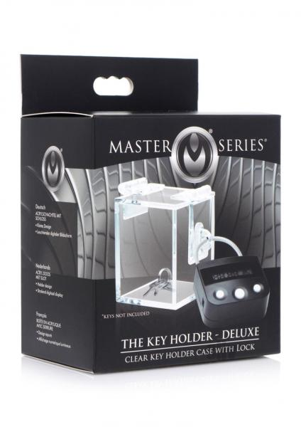 Ms Key Holder Deluxe Clear