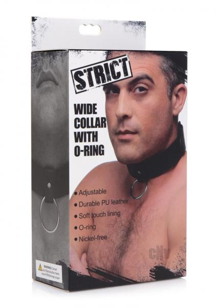 Strict Wide Collar W/ O-ring Black