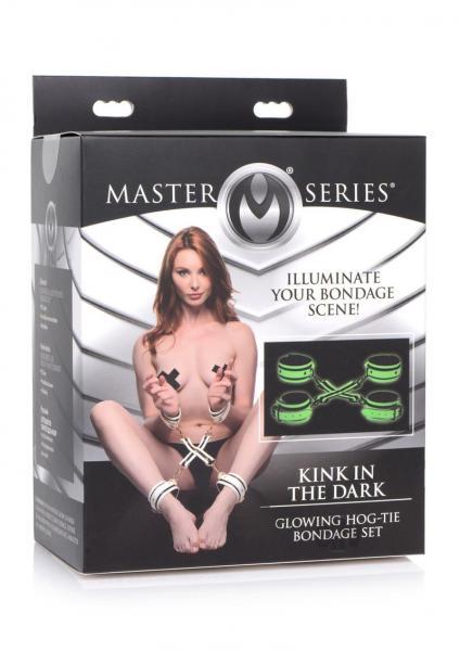Ms Kink In The Dark Glow Tie Set