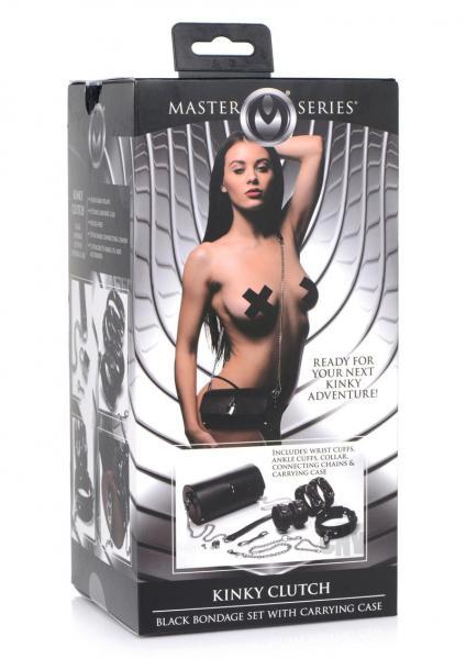 Ms Kinky Clutch Bond Set W/case Black