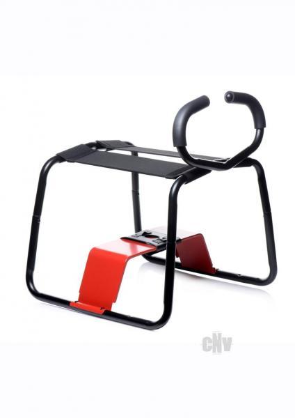 Lb Banging Bench Ez Ride Stool Blk/red