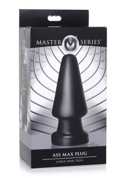 Ms Ass Max Plug Lg Black
