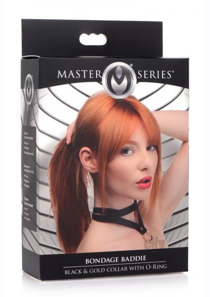 Ms Bondage Baddie Black/gold