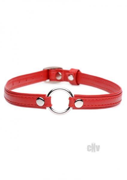 Ms Slim Collar W/o Ring Red