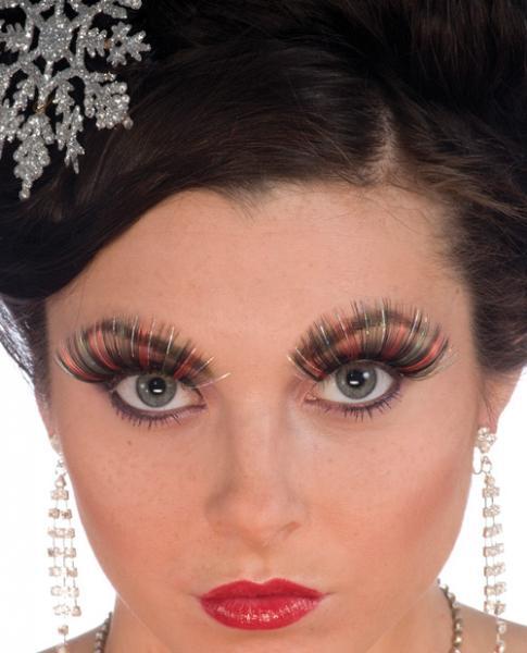 Christmas eyelashes #2