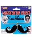 Mustache Party Mustache Necklace Black/Gold Sex Toy Product